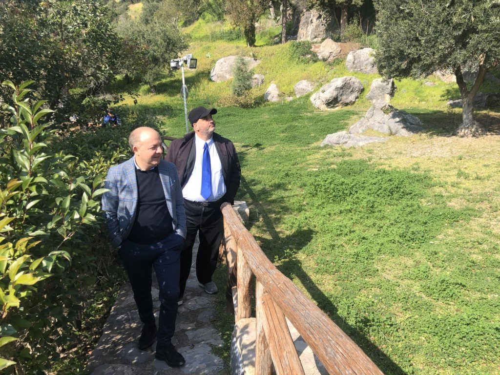 Visita Sindaco di Cirò alle Terme Sibarite