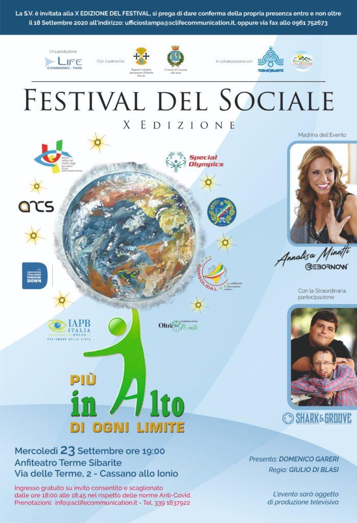 Festival del Sociale - X edizione